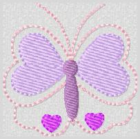 SS Heart Butterfly Embroidery File