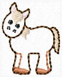 SS Horse Embroidery File BODY