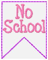 SSBJ Banner Planner Embroidery File-No School