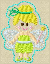 SS Princess Tink Embroidery File