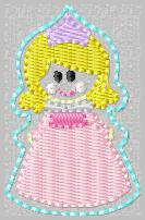 SS Princess Sleeping Beauty Embroidey File
