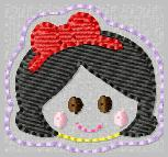 SS Princess Snow White 2 Embroidery File