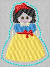 SS Princess Snow White Embroidery File