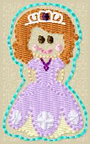 SS Princess Sophia Embroidery File