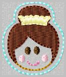 SS Princess Tiana 2 Embroidery File