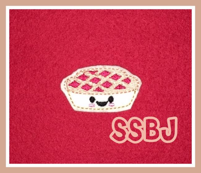 SSBJ Kutie Cherry PieEmbroidery File