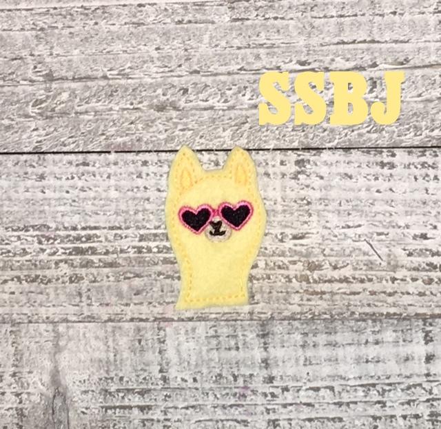 SSBJ Llama Shades Embroidery File