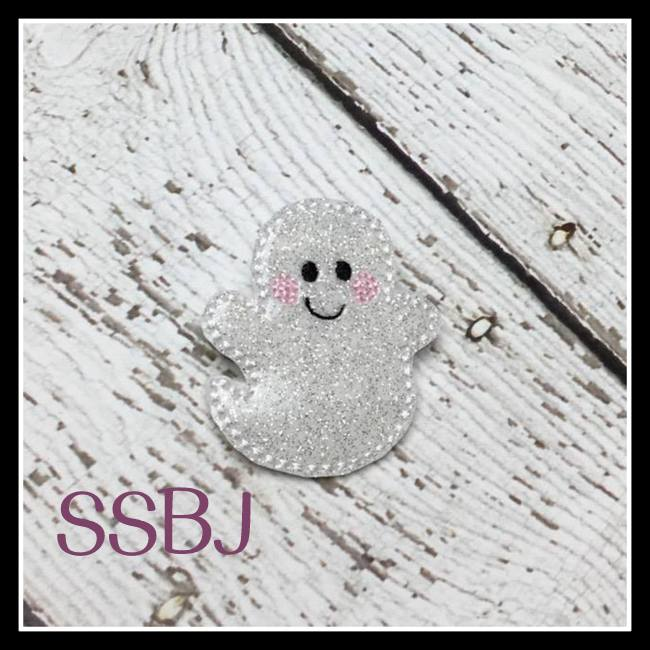 Smiley Hallow Spirits Ghost 1 Embroidery File