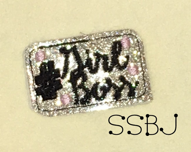 SSBJ Hashtag Girl Boss Embroidery File