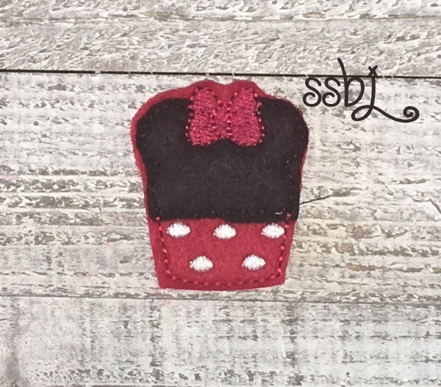 SSBJ Mrs Mouse Cupcake APP Embroidery File