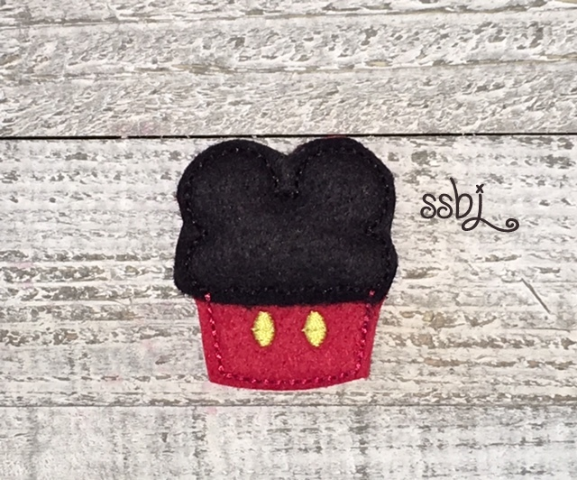 SSBJ Mr Mouse Cupcake APP Embroidery File