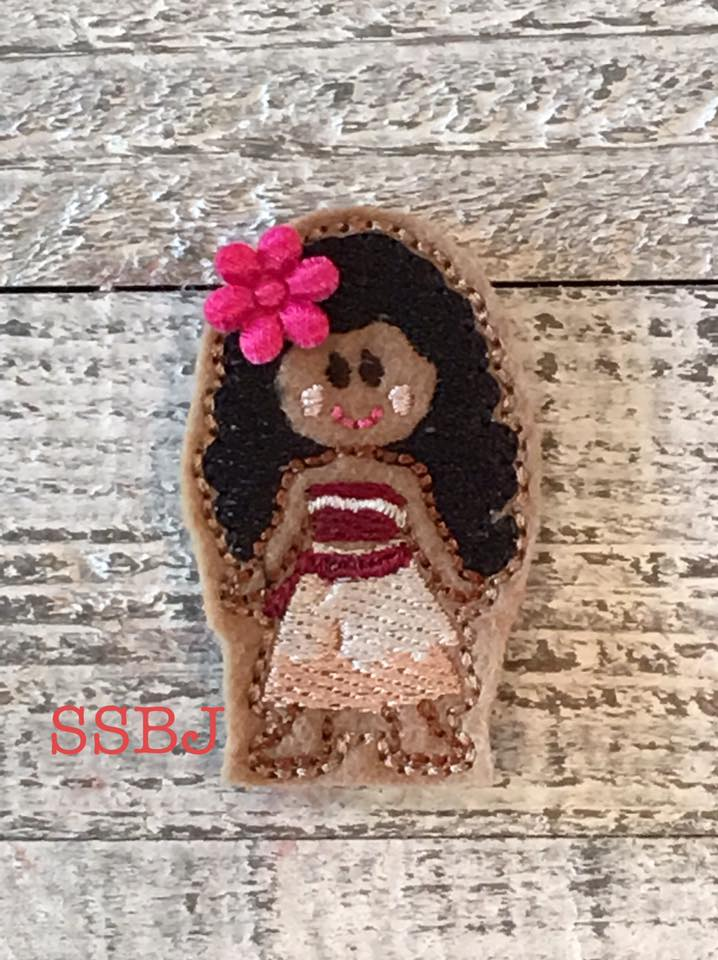 SSBJ Moana Full Body Embroidery File