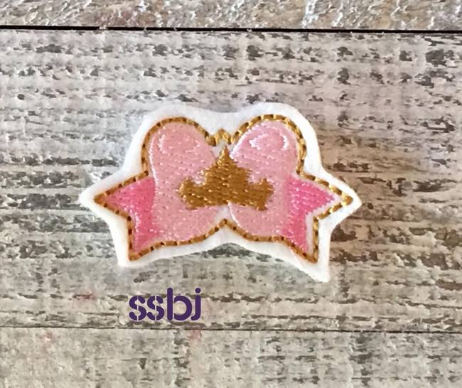 SSBJ Princess Bow Sleeping Beauty Embroidery File