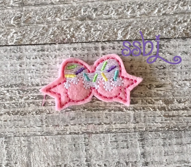 SSBJ Sprinkle Top Bow Embroidery File