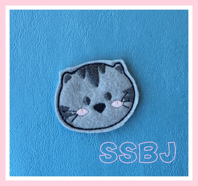 SSBJ Whiskers Embroidery File
