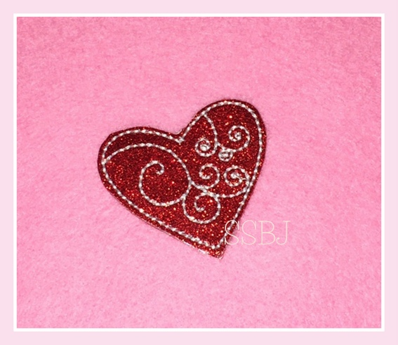 SSBJ Swirly Heart Embroidery File