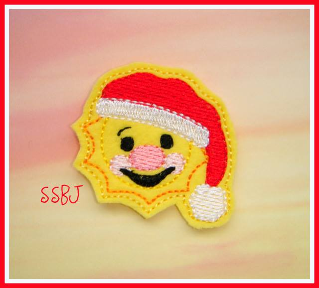 SUN Santa Embroidery File