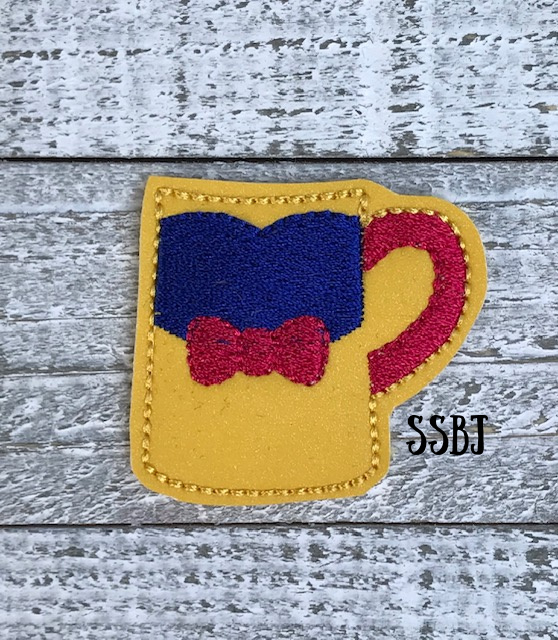 SSBJ Snow White Mug Embroidery File