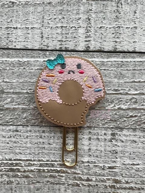 SSBJ Sad Bitten Donut  Embroidery File