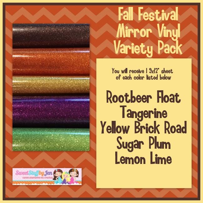 Fall Festival Mirror Vinyl Variety Pack