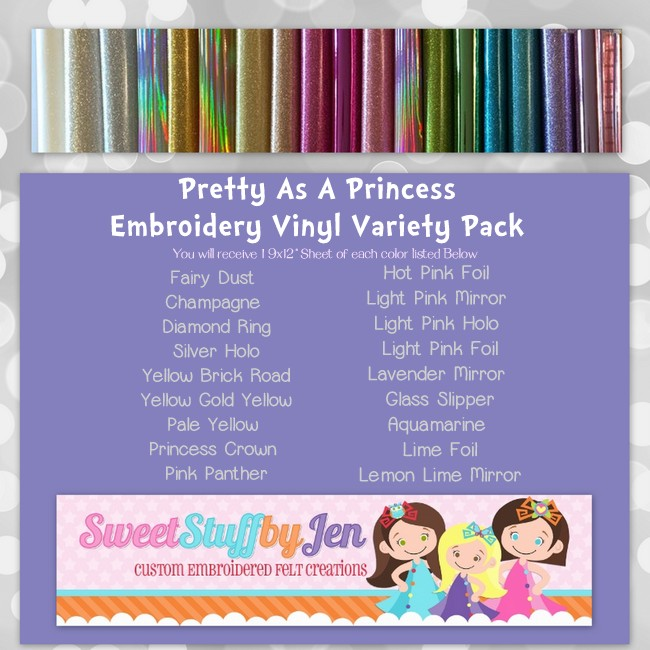 Pretty as a Princess Viny Variety Pack