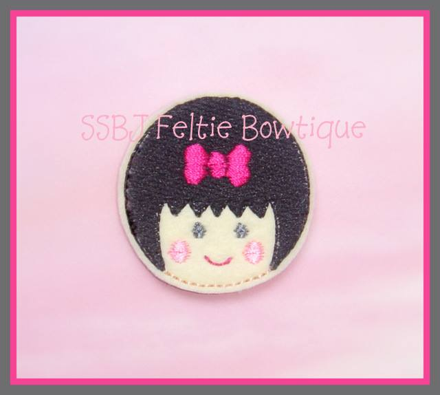 Girlie Coins Sam Embroidery File
