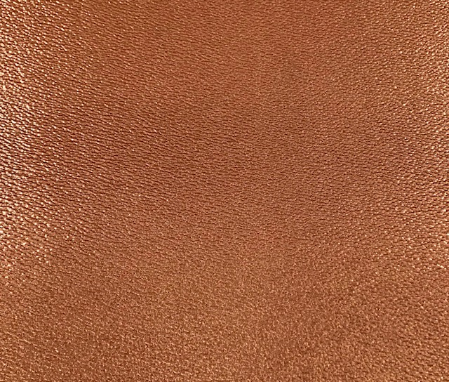 Sandstone Metallic Embroidery Vinyl Copper