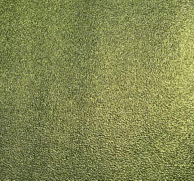 Sandstone Metallic Embroidery Vinyl Lime