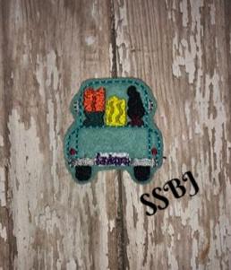 SSBJ Sanderson Truck Embroidery File