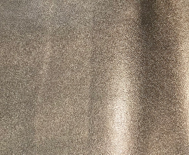 Sandstone Metallic Embroidery Vinyl Champagne