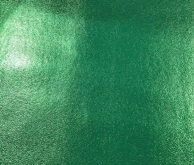Sandstone Metallic Embroidery Vinyl Green