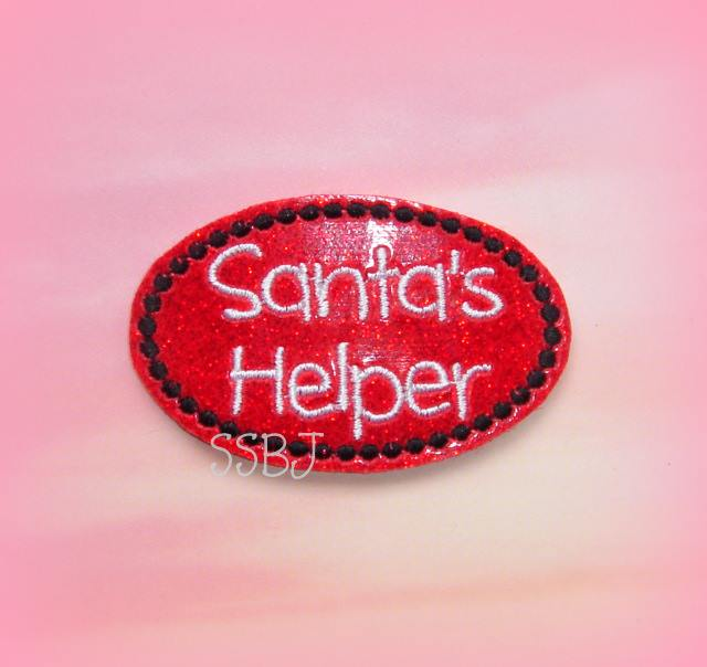 Santa's Helper Embroidery File