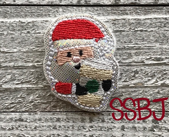 SSBJ Santa Latte Embroidery File