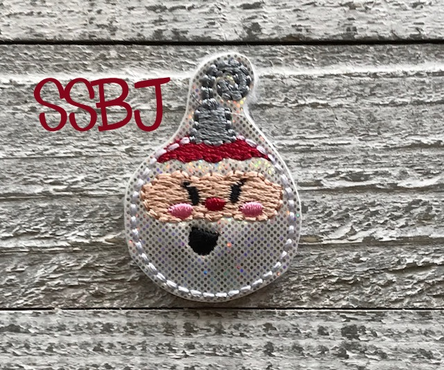 SSBJ Santa Ornament Embroidery File