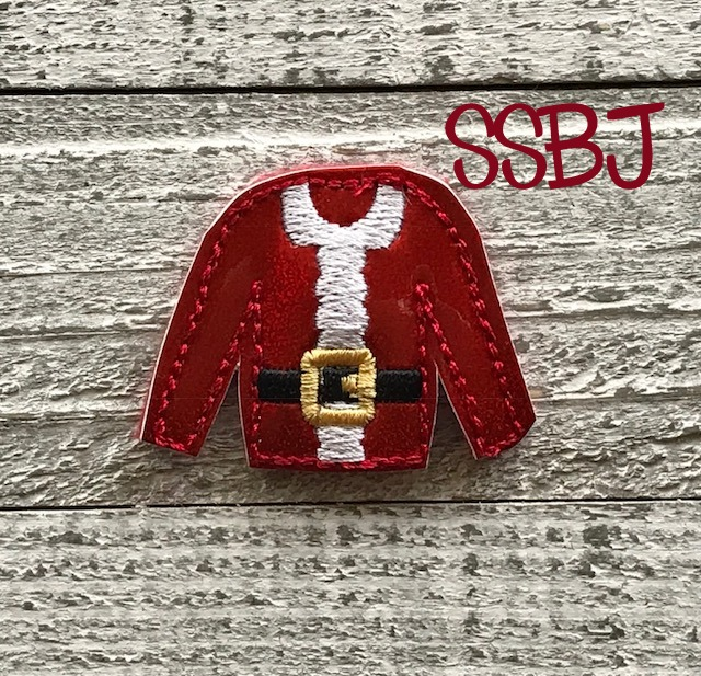 SSBJ Santa Sweater Embroidery File