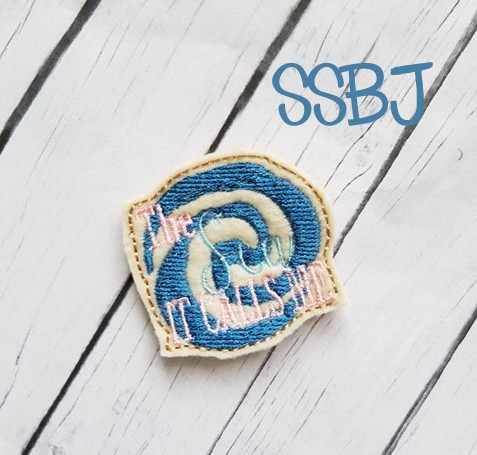 SSBJ The Sea It Calls Me Embroidery File