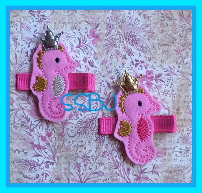 SSBJ Seahorse 2 Embroidery File