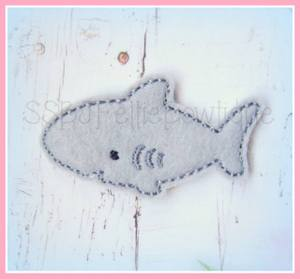 Shane the Shark Embroidery File