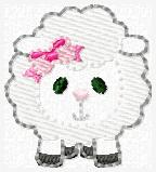 LBS Sheep Embroidery File