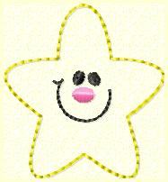Shining Star Embroidery File