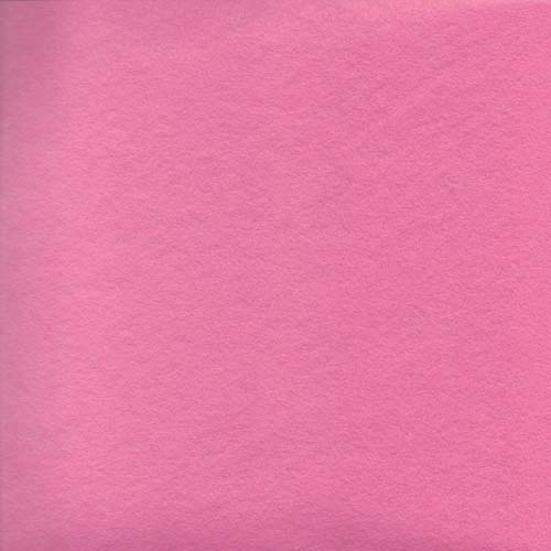 Shocking Pink Wool Blend Felt