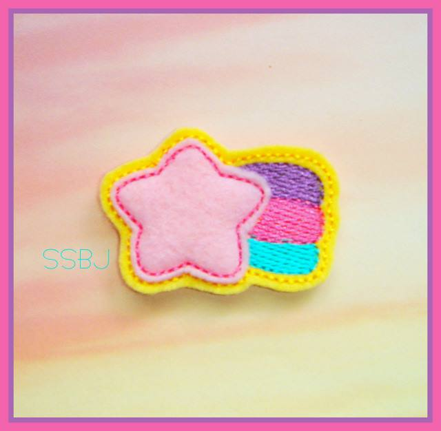 Shooting Star Embroidery File