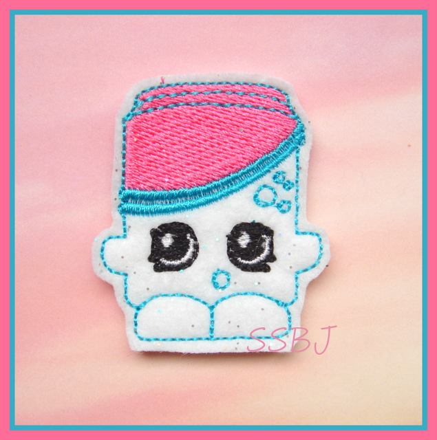 Shopkins POP Embroidery File