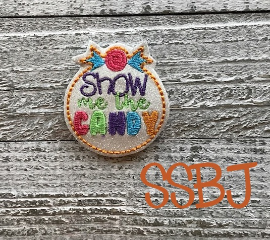 SSBJ Show Me The Candy Embroidery File