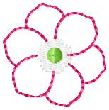 Flower Shower Embroidery File