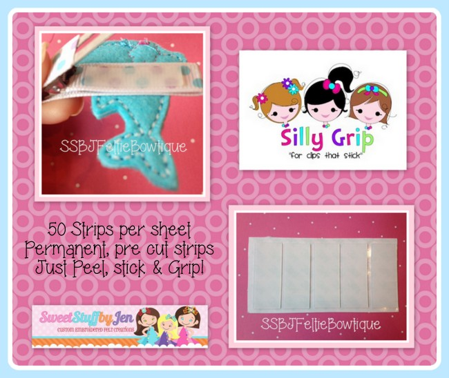 Silly Grip NO Slip Grip-10 Sheets 500 Grips