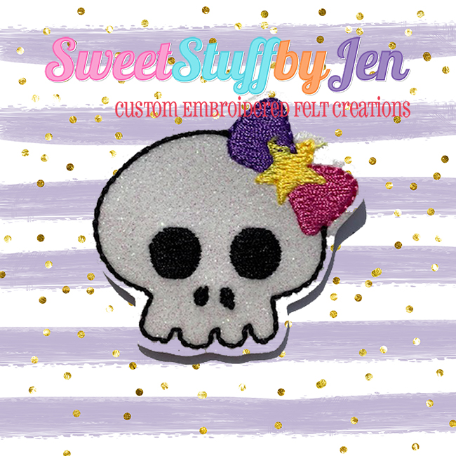 SSBJ Skelly Bow Embroidery File