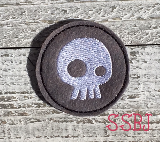 SSBJ Skylander Undead Element Embroidery File