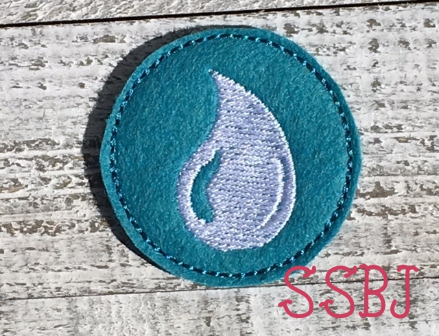 SSBJ Skylander Water Element Embroidery File