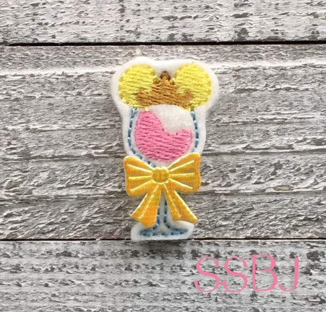 SSBJ Sleeping Beauty Wine Glass Embroidery File